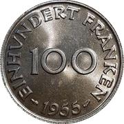 100 franken – revers