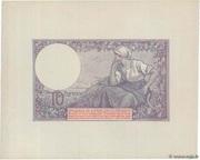 10 francs Mines Domaniales de la Sarre (type 1920) – revers