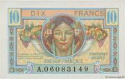 10 francs Trésor français (type 1947) – avers