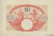 50 francs Mines Domaniales de la Sarre (type 1920) – revers