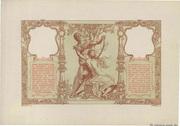 100 francs Mines Domaniales de la Sarre (type 1920) – revers