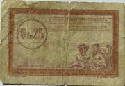 25 centimes - Régie des Chemin de Fer en Territoires Occupés – revers