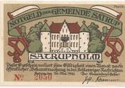50 Pfennig (Satrup) – avers