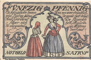 50 Pfennig (Satrup) – revers