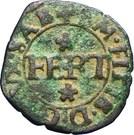 Quart de gros - Emmanuel-Philibert (1er type) – avers