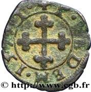 Quart de gros - Emmanuel-Philibert (1er type) – revers