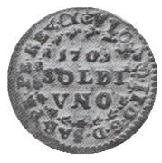 1 Soldo - Vittorio Amedeo II ( Turin ) – avers