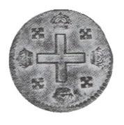 1 Soldo - Vittorio Amedeo II ( Turin ) – revers
