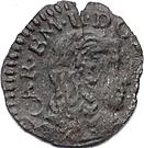 ½ soldo Charles-Emmanuel II 3e type – avers