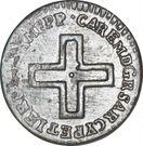 2 denari - Charles-Emmanuel III – avers