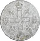 1 soldo Vittorio Amedeo II – revers
