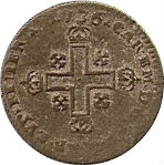 Soldo - Charles-Emmanuel III – avers