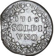 1 Soldo - Vittorio Amedeo II – avers