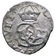 ½ soldo Charles-Emmanuel II (régence) – avers
