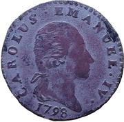 2.6 Soldi - Carlo Emanuele IV – avers