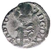 ½ soldo Charles-Emmanuel II (régence) – revers