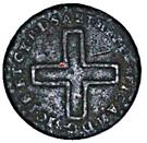 2 deniers - Vittorio Amedeo II – avers
