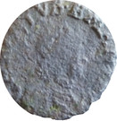 ½ soldo Charles-Emmanuel II (1er type) – avers