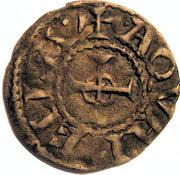 Denier d'Oddon comte de Maurienne et de Savoie – revers
