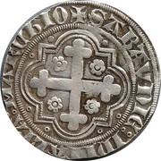 Demi-gros - Amédée VIII, comte de Savoie (1er type) – revers