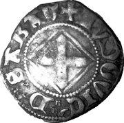 Quart de gros, 1er type (Louis de Savoie) – avers