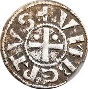 Denier sécusain - Humbert II comte de Savoie – avers
