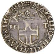 Testone - Carlo II (Type 8) – revers