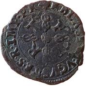 ¼ Gros - Charles II - 14th Type – revers