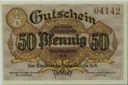 50 Pfennig (Orlamünde) – avers