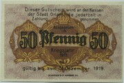 50 Pfennig (Orlamünde) – revers