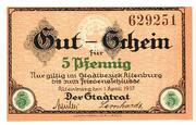 5 Pfennig (Altenburg) – avers