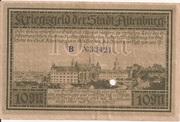 10 Mark (Altenburg) – revers