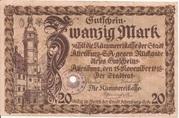 20 Mark (Altenburg) – avers