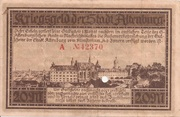 20 Mark (Altenburg) – revers