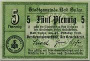 5 Pfennig (Bad Sulza) – avers