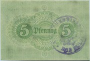5 Pfennig (Bad Sulza) – revers