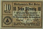 10 Pfennig (Bad Sulza) – avers