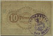 10 Pfennig (Bad Sulza) – revers