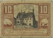 10 Pfennig (Neustadt an der Orla) – revers