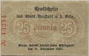 25 Pfennig (Neustadt an der Orla) – revers