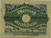 25 Pfennig (Eisenach) – avers