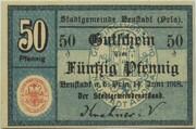 50 Pfennig (Neustadt an der Orla) – avers
