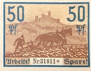 50 Pfennig (Gutschein) – revers