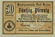 50 Pfennig (Bad Sulza) – avers