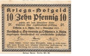 10 Pfennig (Ostheim) – avers