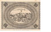 10 Pfennig (Ostheim) – revers