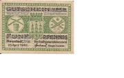 5 Pfennig (Neustadt an der Orla) – avers