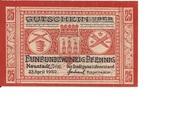 25 Pfennig (Neustadt an der Orla) – avers