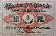 10 Pfennig (Bad Berka) – avers