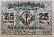 25 Pfennig (Bad Berka) – avers